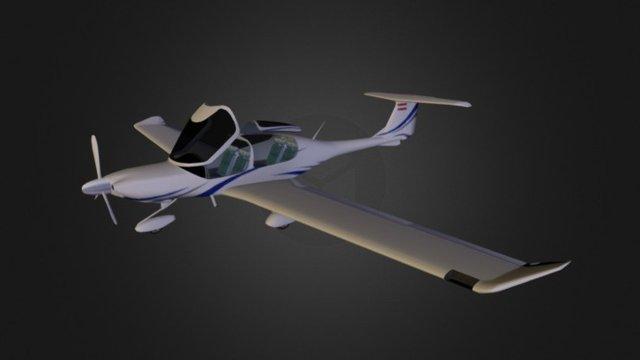 Diamond Da40 3D Model