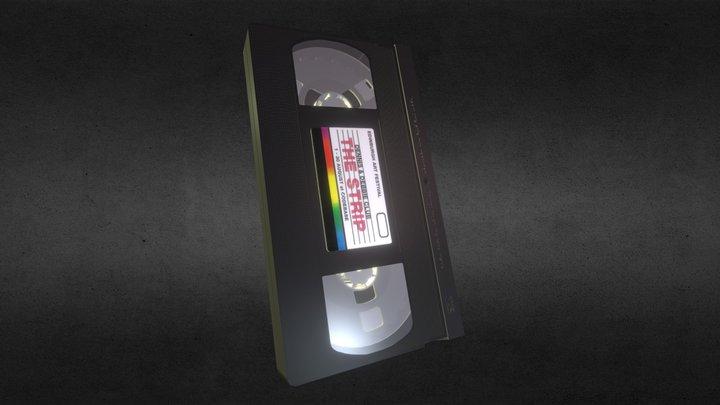 The Strip VHS tape 3D Model
