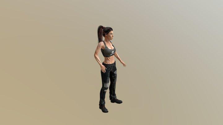 April May 3D Model