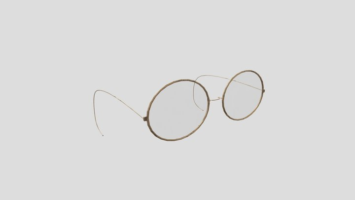 Old Glasses 3D Model