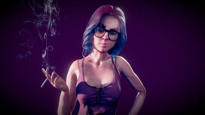 Hello it's Eva 3D Model