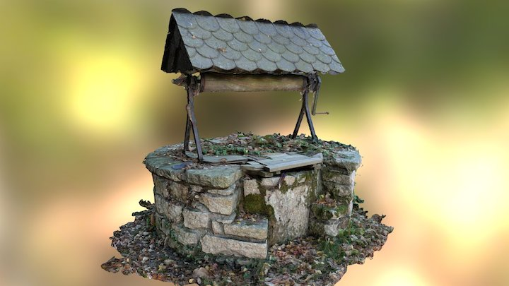 Puit  ( Water well ) 3D Model