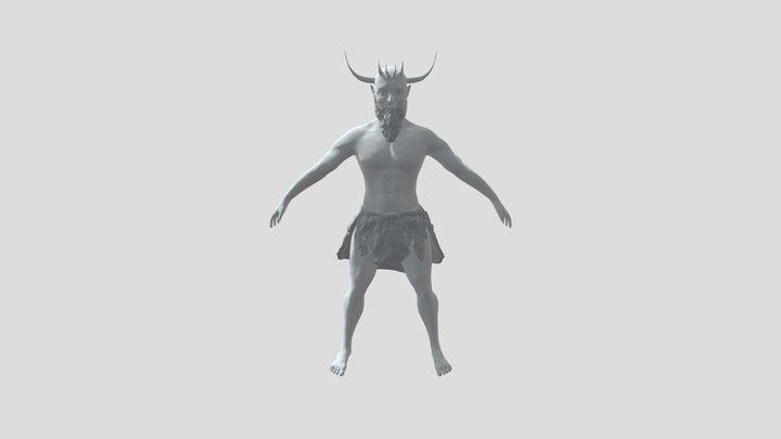 Frost Giant 3D Model