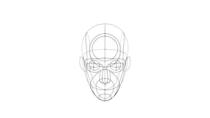 Reilly Head 3D Model