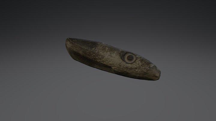 Stone 015 (Axe) Historiska museet 3D Model