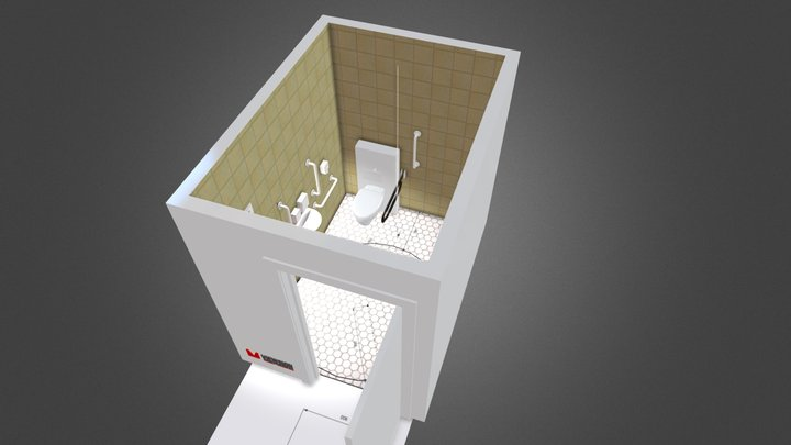 Disabled WC: IWA Standards 3D Model