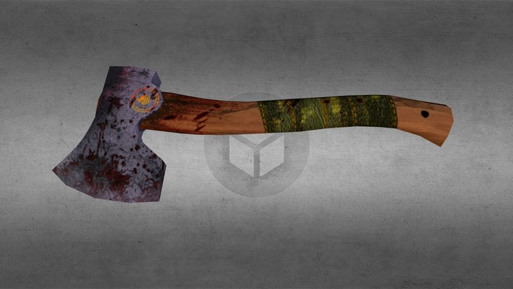 Hatchet 3D Model