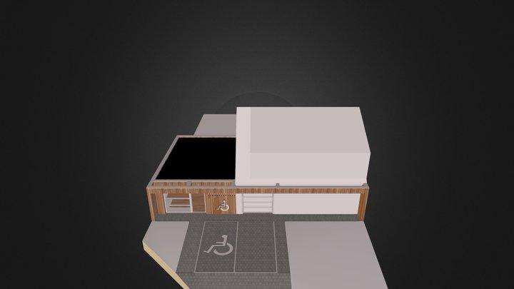 cabinet kiné 3D Model