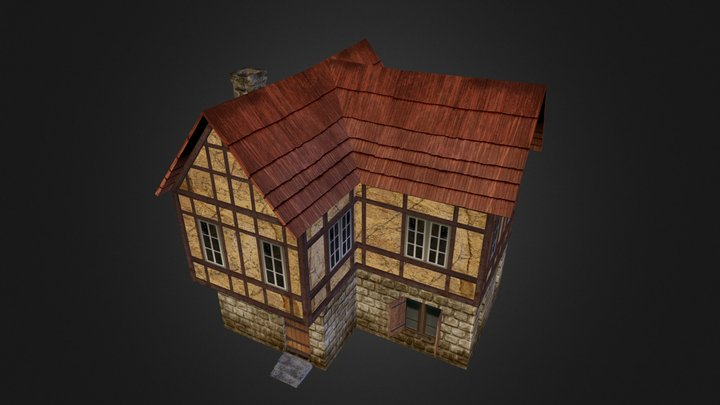 Dwelling House 03.obj 3D Model