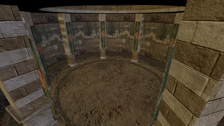 Coliseo 3D Model