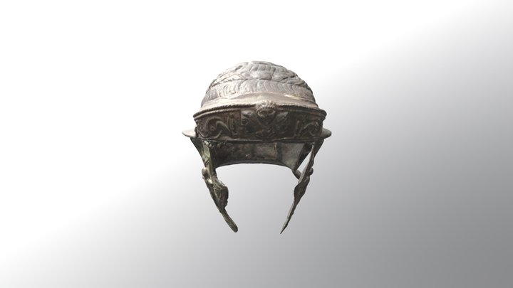 Cavalry Helmet 3D Model