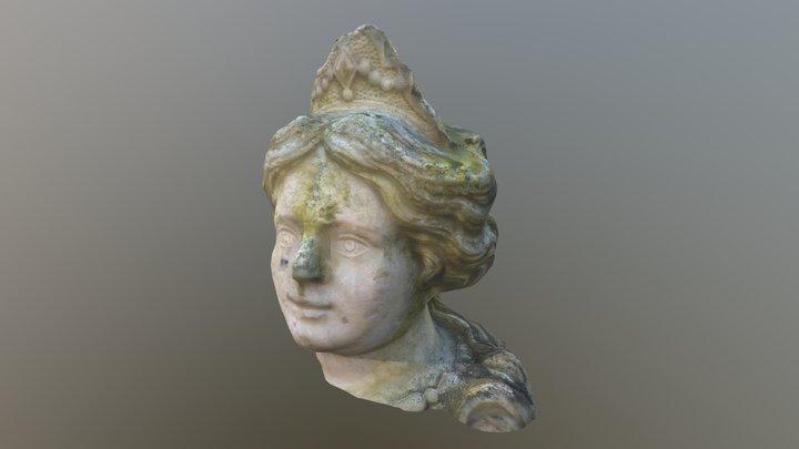 Tête de sphinge 3D Model