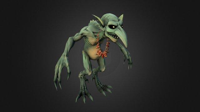 [Larian internship] Ghoul A 3D Model
