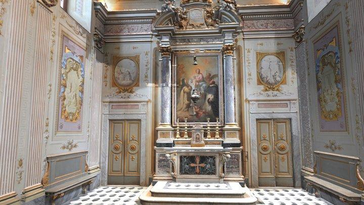 Cappella del Santo Rosario - Certosa di Calci 3D Model
