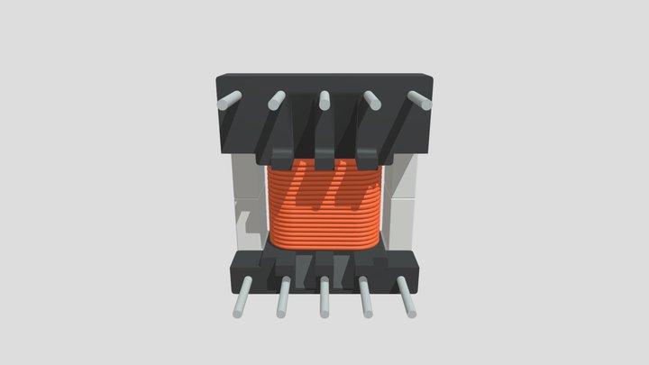 EE16-K-H-10P-TF1626 Zlozenie 3D Model