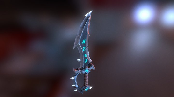 Wow Sword - Test UV and Substance Painter 3D Model