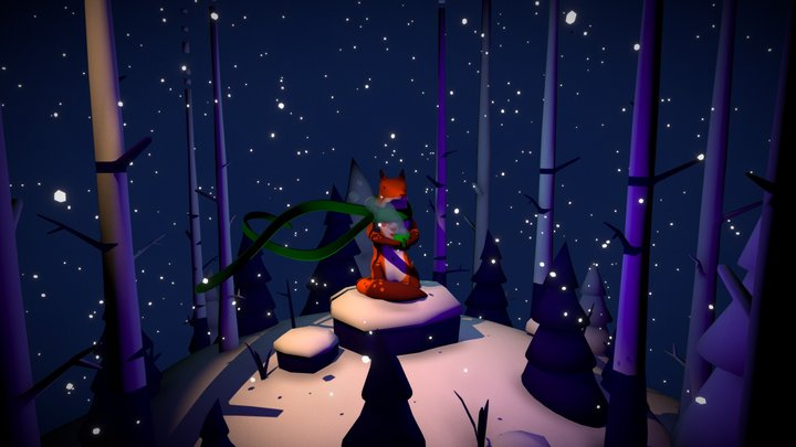 Winterfox 3D Model