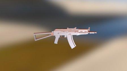AK74U WIP 3D Model