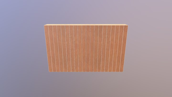 HSB wand hennep 3D Model