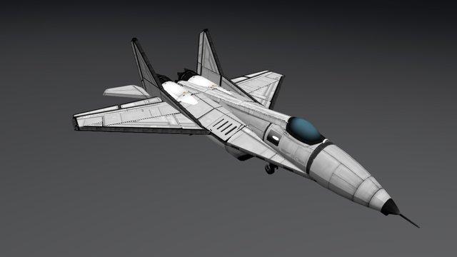 mig 29 3D Model