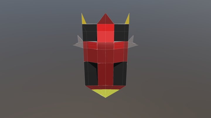 Shield Design 3D Model