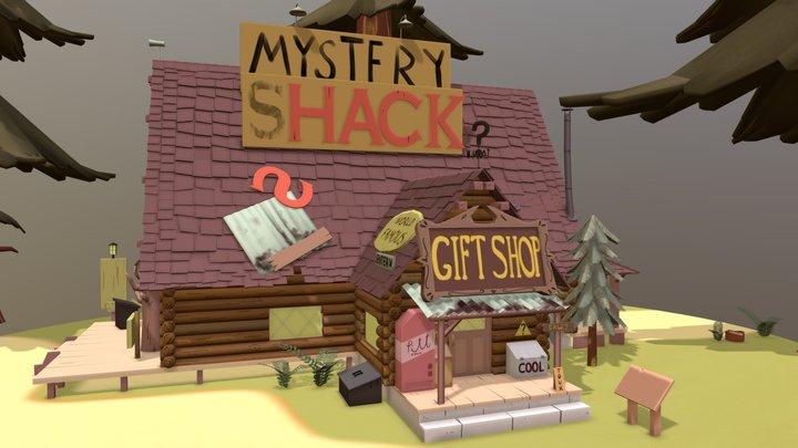 Mystery Shack (WIP) 3D Model