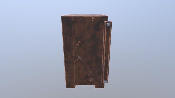 Cajafuerte 3DCoat + zBrush 3D Model