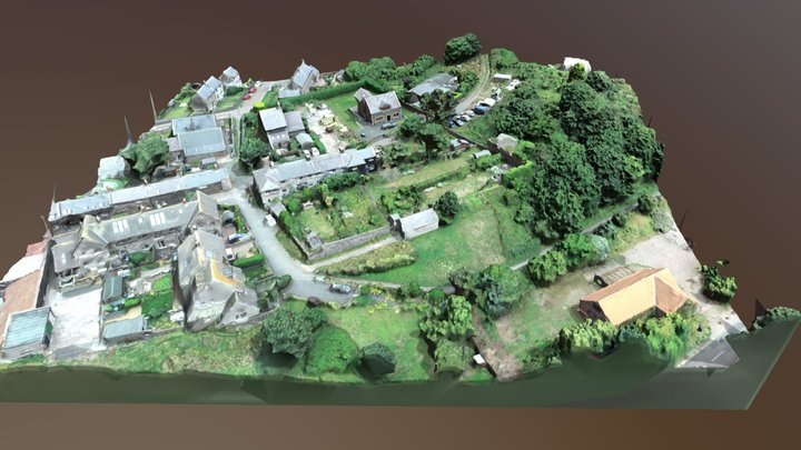 Whin Hill 3D Model