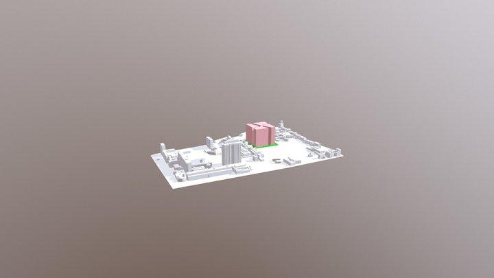BK3ON3 - Locatie-optie 2F (MAX) 3D Model