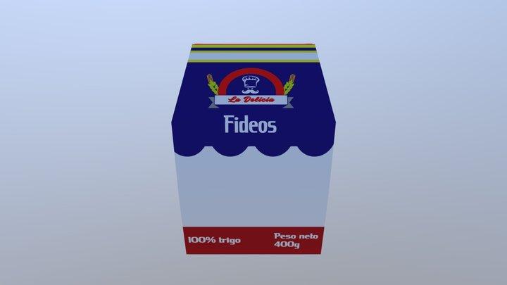 Ejemplo Funda De Fideo 3D Model