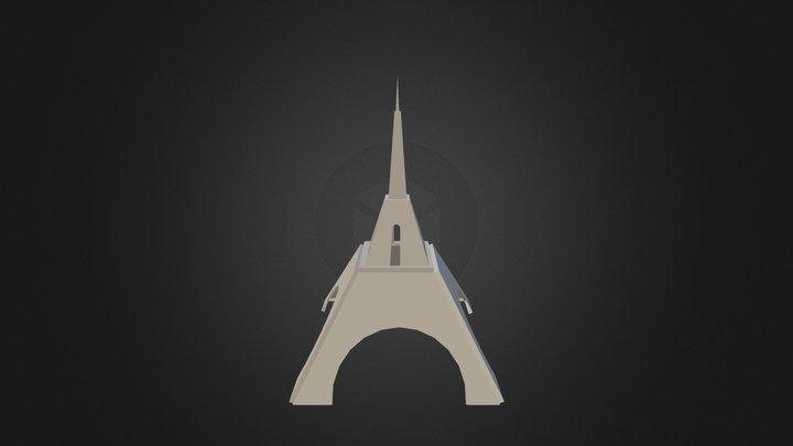 Tour Effel 3D Model