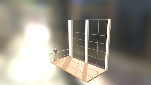Kroloftet messaninen 3D Model