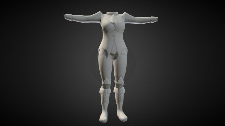 Character Clothing 3D Model