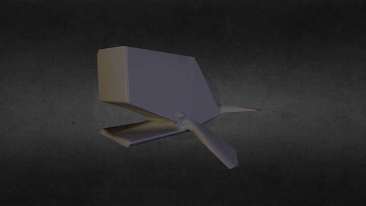Spermwhale 3D Model