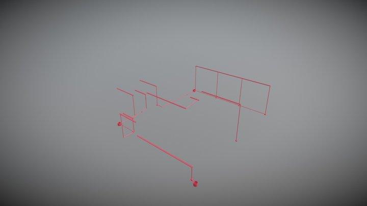 Galpon 3D Model