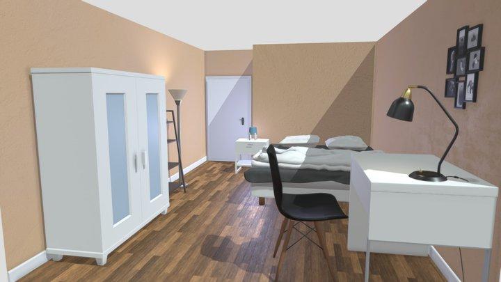 Room Paris 3D Model