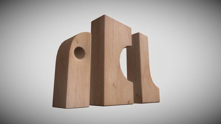 Advanced Blocks 3D Model