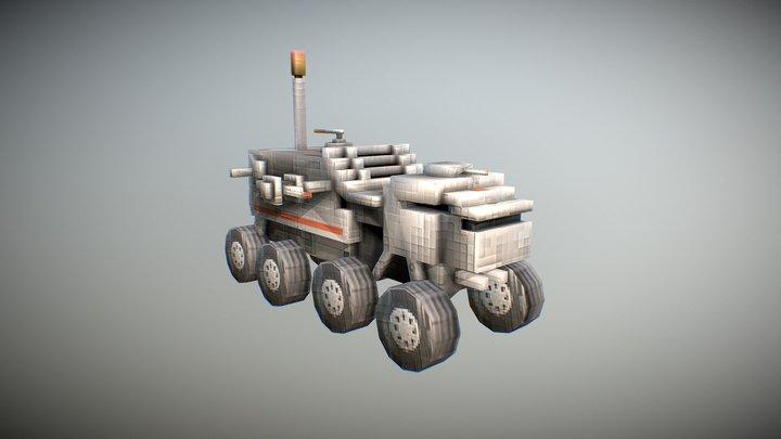 Juggernaut 3D Model