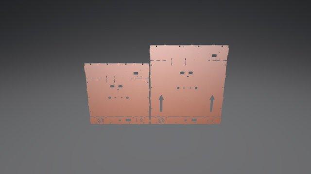BigBox Back Panel Comparison 3D Model