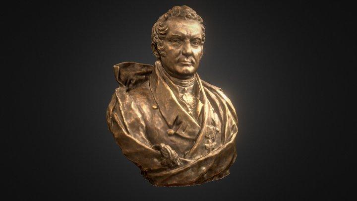 Efrem Osipovich Mukhin 3D Model