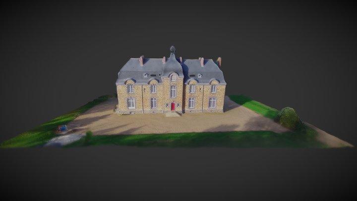 Castle of Perray, Saint-Mars-du-Désert, France 3D Model