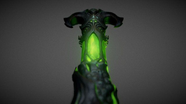 World of Warcraft Legion - fanart speed sculpt 3D Model