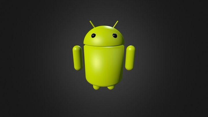 Android Robot  3D Model