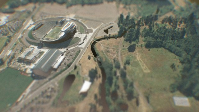 Autzen lidar scan 3D Model
