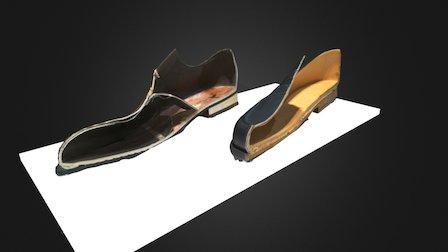 Chaussures Weston, originale et contrefaçon 3D Model