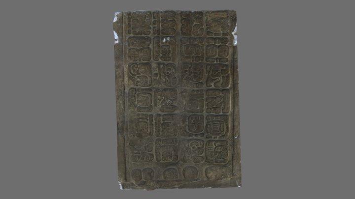 Stela J, Quirigua, Guatemala 3D Model