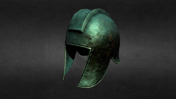 Illyrian Helmet - Low Poly. 3D Model