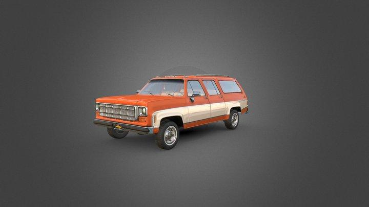 1970 Truck 3D Model