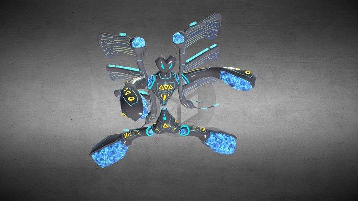 Insectobot - MC10 3D Model