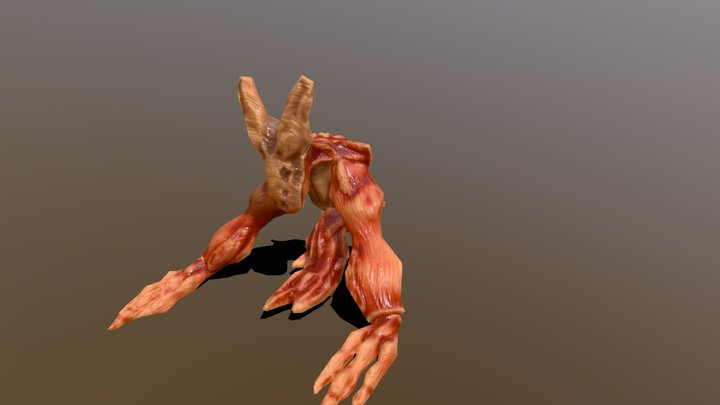 """""""Hopper"""" demon 3D Model"""